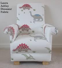 Laura Ashley Bedroom Chairs Laura Ashley Dinosaur Fabric Childs Chair Nursery Bedroom