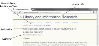 Journal Article How To Cite A Journal In Mla 7 Easybib Blog