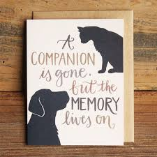 Card For Loss Of Pet Pet Loss Sympathy Card Under Fontanacountryinn Com