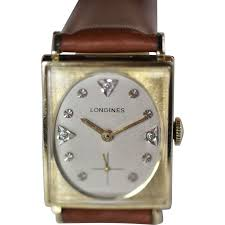 longines gold diamond men s vintage watch from vintagewatches on longines gold diamond men s vintage watch