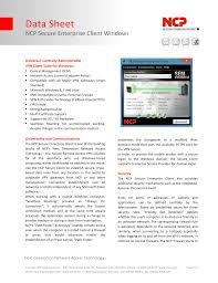 Tunnel Light Vpn For Pc Ncp Secure Enterprise Vpn Client Windows Manualzz Com
