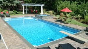 rectangle inground pools. Simple Pools 20u0027 X 40u0027 Steel Rectangle Inground Swimming Pool Kit  6 Throughout Pools N