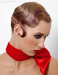 1920s Hair Style short 1920s hairstyle with water waves 3881 by wearticles.com