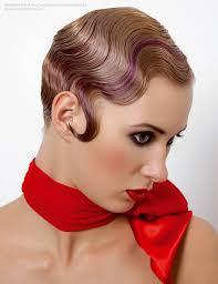 twenties charleston hairstyle 1920s inspired hair with water waves