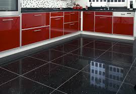 Tile Flooring In Kitchen Black Vinyl Kitchen Flooring Outofhome