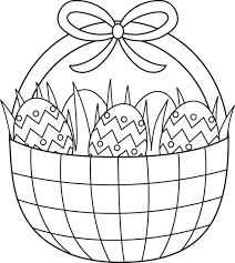 Small Picture Easter Basket Coloring Pages Holiday Coloring Pages Pinterest