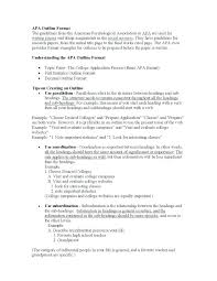 apa writing style examples apa sample essay paper style research topgradeacai org