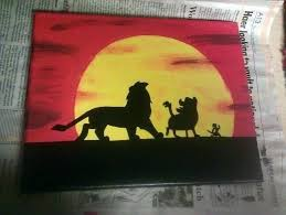 lion king canvas wall art stunning red color handmade premium material decoration synonyms in hindi full