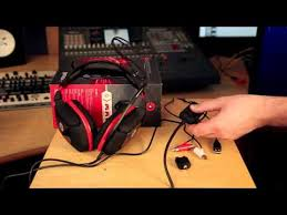 gioteck hc3 wired gaming headset ps4 unboxing and setup