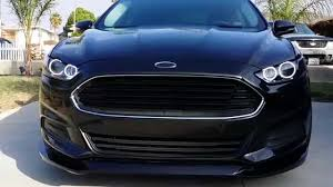 blacked out ford logo. ford fusion 2013 blacked out logo d