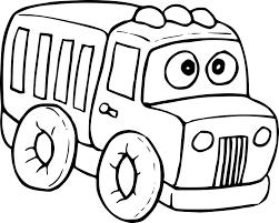 Coloriage Camion Enfant Imprimer Sur Coloriages Info