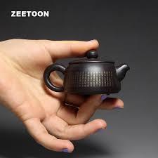 <b>100ml Authentic Yixing Teapot</b> Mini Buddhist Scriptures Pot Chinese ...