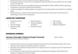 Microbiology Lab Assistant Resume From Lab Resume Examples Examples