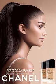 alyssah ali half indian half spanish in chanel beauty perfection lumiere s s