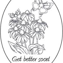 Small Picture Get Well Card Coloring Page Archives Mente Beta Most Complete