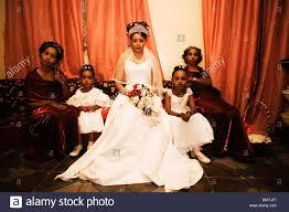 Somali Bride Before Her Wedding Stock Photo Royalty Free Image