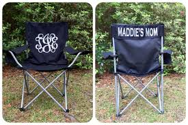 personalized beach chairs. Monogrammed Camp Chair, Beach Personalized Folding Chair Sports Mom Chairs A
