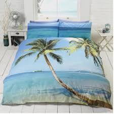 duvet set beach rapport pillowcase polyester cotton multi colour king