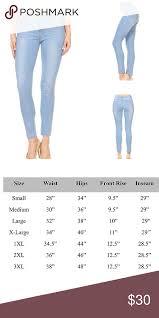 Light Blue Stretchy Skinny Jeans