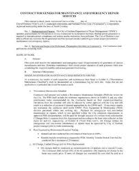 Use this free maintenance contract to get responsibilities, time frames, fees and expenses down in. 9 Maintenance Service Contract Templates Word Google Docs Pdf Free Premium Templates