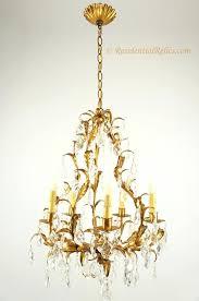 crystal leaf chandelier 5 candle crystal leaf chandelier circa chrome crystal leaf chandelier