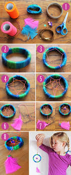 Diy Dream Catchers For Kids Make A Cute Mini Dreamcatcher Craft Ideas With Easy To Follow 81
