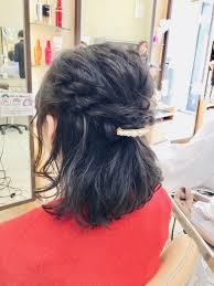 結婚式ハーフアップ Links川村 美波 のブログ 美容室リンクス
