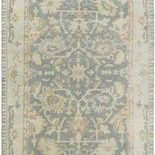 gray rectangle oriental motif rug
