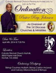 ordination service calvary revival church peninsula newport news va ordination service flyer full2