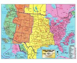 us mexico time zones map map usa time zones cities  vector with