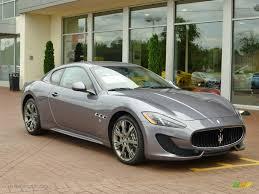 Grigio Alfieri (Grey) 2013 Maserati GranTurismo Sport Coupe ...