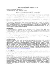 Cover Letter Example Resumes Australia Example Resumes Australia