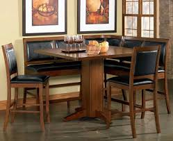 corner dining furniture. Counter Height Corner Breakfast Nook Chicago Dining Room Place . Furniture