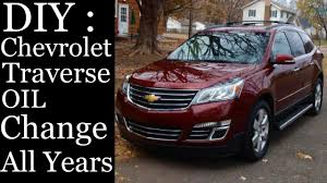 DIY - HOW TO CHANGE OIL CHEVROLET TRAVERSE 2009 2010 2011 2012 ...