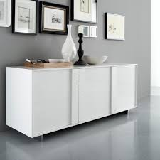 Modern White Credenza Sideboards Interesting Modern White Buffet Modern White Buffet