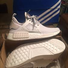 adidas shoes nmd womens. adidas shoes - nmd xr1 pk -white womens 7 a