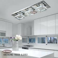 light fiiting modern led diamond crystal ceiling light fitting crystal lights lamp for hallway corridor living room kitchen fast crystal lamp