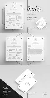 Professional Resume Cv Business Card Template With A Clean