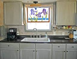 kitchen cabinets for mobile homes mobile home kitchen makeover new sink and faucet lightweight kitchen cabinets