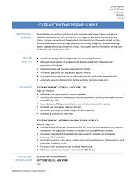 Accountant Certified Public Accountant Resume