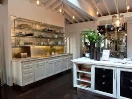 Jeff Lewis Homes With Rack Cabinets Dining · Modern Kitchen DesignInterior  ...