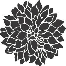 stencils for painting stenciling 7 flower stencil wall 7 flower stencil dahlia 7 stencil pink dahlia stencils for painting chrysanthemum stencil fl
