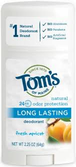 Tom's Natural Fresh Apricot Long Lasting Deodorant Stick ... - QFC