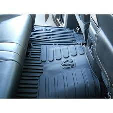 mopar floor mat all weather rear crew cab dodge ram 1500 2500 3500