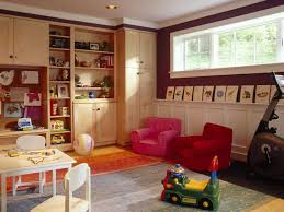 Playroom Living Room Storage Basement Playroom Ideas The Best Solution For Your Kids