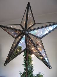 15 LED Lighted Battery Operated Mirrored Star Christmas Tree Christmas Tree Lighted Star