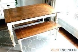 farmhouse desk farm table plans corner metal chair diy f