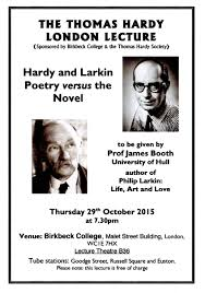 philip larkin the thomas hardy london lecture hardy and recent posts