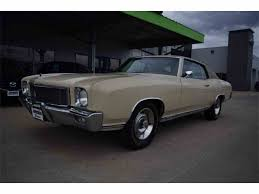 1971 Chevrolet Monte Carlo SS for Sale | ClassicCars.com | CC-947549
