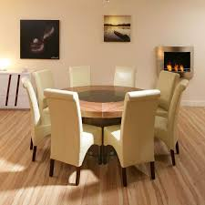 round dining table 8 chairs intended for large with leaves furniture idea 12